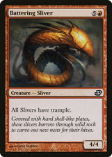 Battering Sliver, NM English x 4 Planar Chaos mtg Low International Shipping