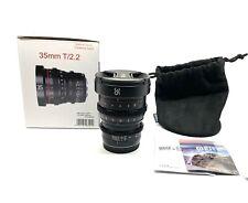 Meike 35mm T2.2 Mini Prime Cinema Lens Micro4/3 MFT - NEW USA WARRANTY - BMPCC4K