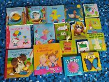 Kinderbücher Paket / 17 Bücher / Krabbelfinger, Fühlbuch, Bilderbuch, Wörterbuch