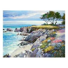 """Howard Behrens """"Monterey Bay, After The Rain"""" Limited Edition On Canvas; COA"""