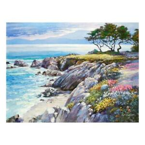 """Howard Behrens """"Monterey Bay, After The Rain"""" Limited Edition On Canvas COA"""