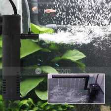 200L/H 3W Aquarium Internal Filter for Fish Tank Submersible with Spray Bar UK