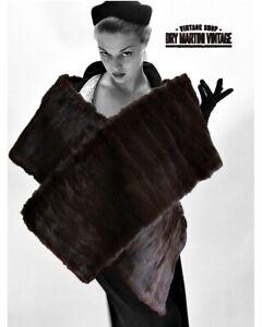 Fur Stole 1940s Vintage Scarves & Wraps for sale | eBay