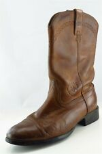 Ariat Cowboy Boots 10.5 Brown Leather Women Sz 9