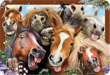 EuroGraphics Howard Robinson Horses Selfie 3D Placemat