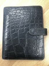 Mulberry Leather Pocker Organiser / Filofax With Full Mulberry Pack Inserts