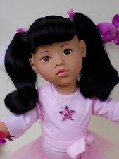 """GOTZ Hannah Asiatique Poupée Doll 50cm 20"""" Numérotée LTD EDITION muneca bambola"""