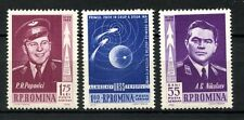 Romania 1962 SG#2963-5, 1st Manned Space Flight MNH Set #A59889