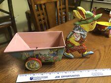 Chein Rabbit Tin Toy Easter