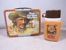 Vintage 1978 Thermos How The West Was Won Metal Lunchbox