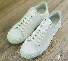 Leather White woman casual shoes Trainers Sneakers New Size 37 (EU)