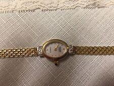 14 K Gold Christian Geneve Diamond Watch!