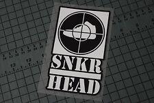 SNKR HEAD Sticker Decal Vinyl Sneaker Heads Jordans Shoes Kicks Nike