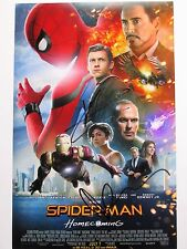 TOM HOLLAND & MARISA TOMEI SIGNED 11x17 PHOTO SPIDER-MAN HOMECOMING CAST DCCOA 1