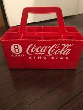 Vintage Coca Cola 8 Bottle Carring Tote