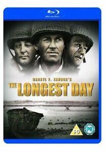 The Longest Day [Blu-ray] [1962] [DVD][Region 2]