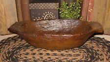 DOUGH BOWL Table Centerpiece-Primitive/French Country Farmhouse Decor*Wood Style