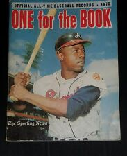 Sporting news official all time baseball records 1970 one for the book