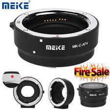 Meike MK-C-AF4 Camera Adapter Ring for Canon EOS-M Mount Cameras to EF EF-S Lens
