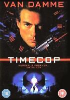 Timecop Jean-Claude Van Damme Mia Sara Ron Argent GB DVD Neuf
