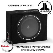 """JL Audio cs112lg-tw1-2 PowerWedge 12 """"TW1 SUBWOOFER IN CUSTOM SIGILLATO BOX 300W"""