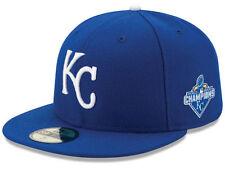 separation shoes d56fc a12be Era 59fifty Kansas City Royals MLB 2015 World Series Champ AC Patch Cap 7