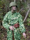 Reproduction Soviet WW2 2pc tricolor pattern Spring/summer camouflage set