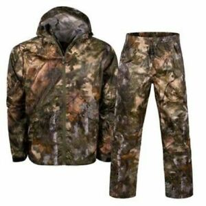 2pc Kings Camo Mountain Shadow Climatex Rain Gear Pant Jacket Bundle Lot