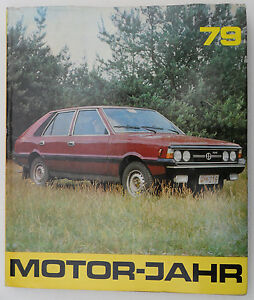"2161 EAST GERMAN/DDR/GDR COLD WAR   "" 1979 MOTOR YEAR book """