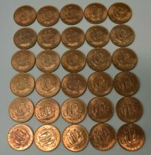 Lot of 1966  1/2 Cent Great Britain