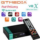 GTMEDIA V8X DVB-S/S2/S2X Digital FTA Satellite Receiver HD Wifi DLNA Sat to IP