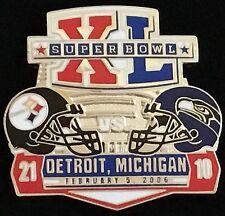 Pittsburgh Steelers Seahawk Super Bowl 40 Final Score Series Pin Willabee & Ward