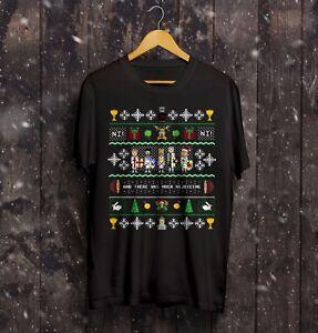 Monty Python Christmas T Shirt Xmas Holy Grail Gift Life Of Brain Funny Gift