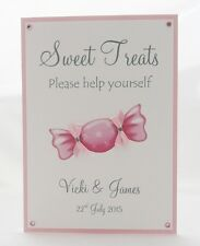 Sweet Treat/Candy Buffet Wedding or Party Sign A4 or A5 Size