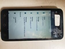 Alcatel Raven A574BL 16GB Gray (TracFone) Fair Conditon