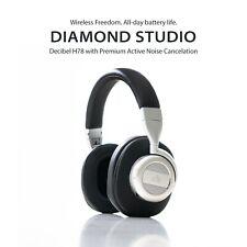 Auriculares de cancelación de ruido-Auriculares Bluetooth H78 de decibelios Diamante Studio