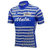 1989 Atala Cycling Jersey Retro Road Pro Clothing MTB Short Sleeve Racing Bike