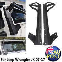 """52"""" Straight LED Light Bar Mount Brackets For 07-17 Jeep Wrangler JK"""