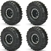 "Pro-Line 1197-13 1.9"" Mounted Super Swamper Tires Impulse Wheels (4) SCX10 TRX-4"