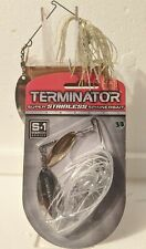 LOT OF TWO TERMINATOR SPINNER BAIT FISHING LURE
