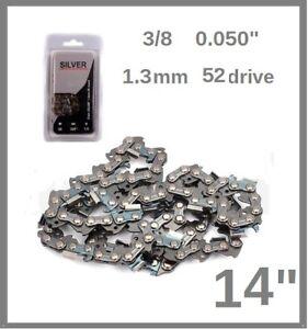 """14"""" 35cm Chain saw 1.3MM 3/8 0.05 52 Oregon 91P052X   FPCSP38 & FPCS1800"""
