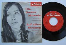 """7"""" Tony Sandler – Oh, Donna Micaela / Auf Allen Straßen - Gert Wilden"""