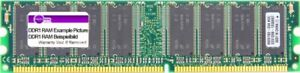 256MB Micron DDR1 RAM PC2100U 266MHz CL2.5 MT8VDDT3264AG-265B1 175924-001 Memory
