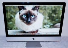 "APPLE iMAC 27"" CORE i5  HIGH SIERRA ADOBE CS6 - ILIFE -  MS OFFICE - TOAST"