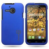 Matte Blue Case for Alcatel One Touch Evolve 5020T Hard Skin Cover Phone