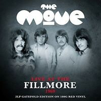 The Move - Live at the Fillmore (Red Vinyl) [New Vinyl LP] Colored Vinyl, UK - I