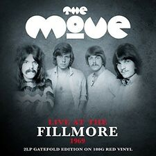 The Move - Live at the Fillmore (Red Vinyl) [New Vinyl] Colored Vinyl, UK - Impo