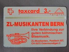 kaart MINT Ongebruikt Zwitserland  /  ZL - Musikanten Bern