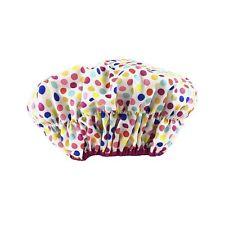 Waterproof Fashionista Style Mold Resistant Shower Cap Deco Dots 2.8 Ounces