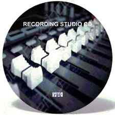 Home Recording Software CD - Cubase equivalent - Record Guitar, Vocals and Drums